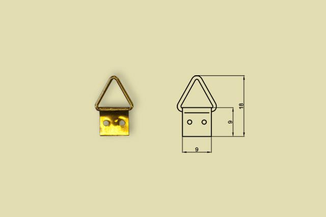 Zawieszki trójkątne nr 0 kod 0200-0000