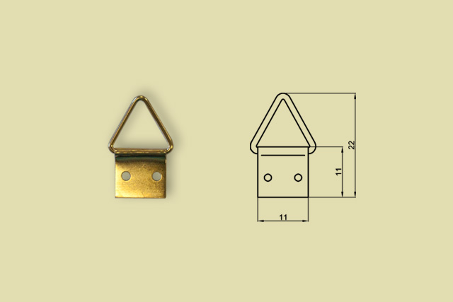 Zawieszki trójkątne nr 1 kod 0200-0001