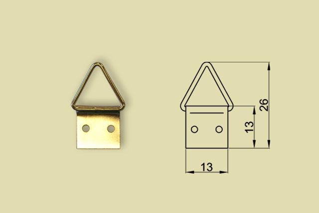 Zawieszki trójkątne nr 2 kod 0200-0002