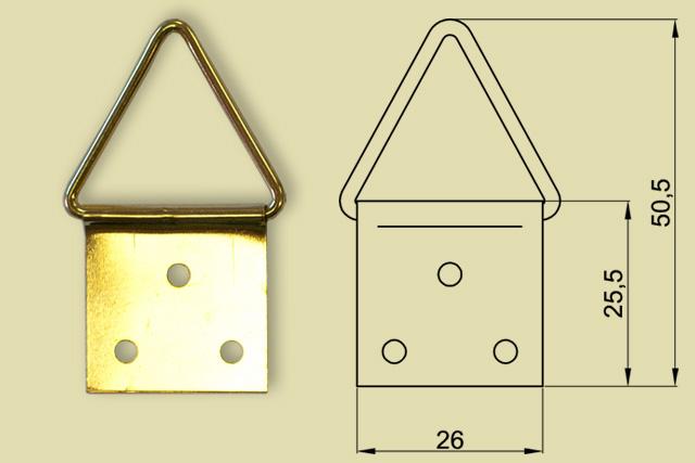 Zawieszki trójkątne 0200-0006