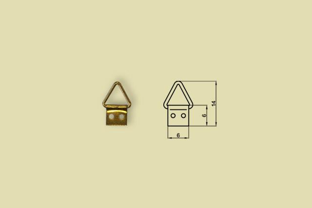 Zawieszki trójkątne nr 00 kod 0200-00DO