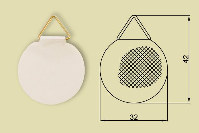 Zawieszki do płyty piankowej z klejem piankowej 0221-0130