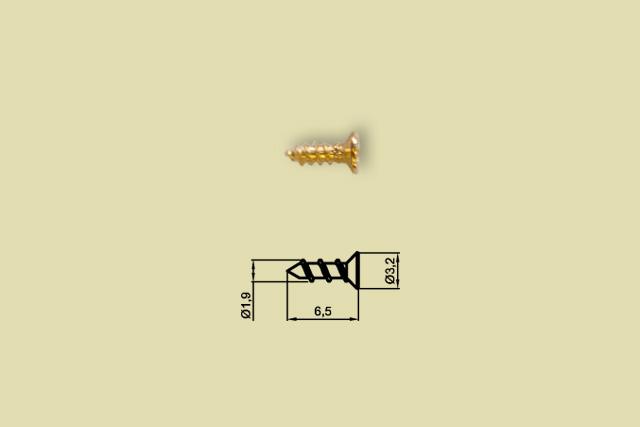 Wkręt do drewna chiński S21/1 2x6mm
